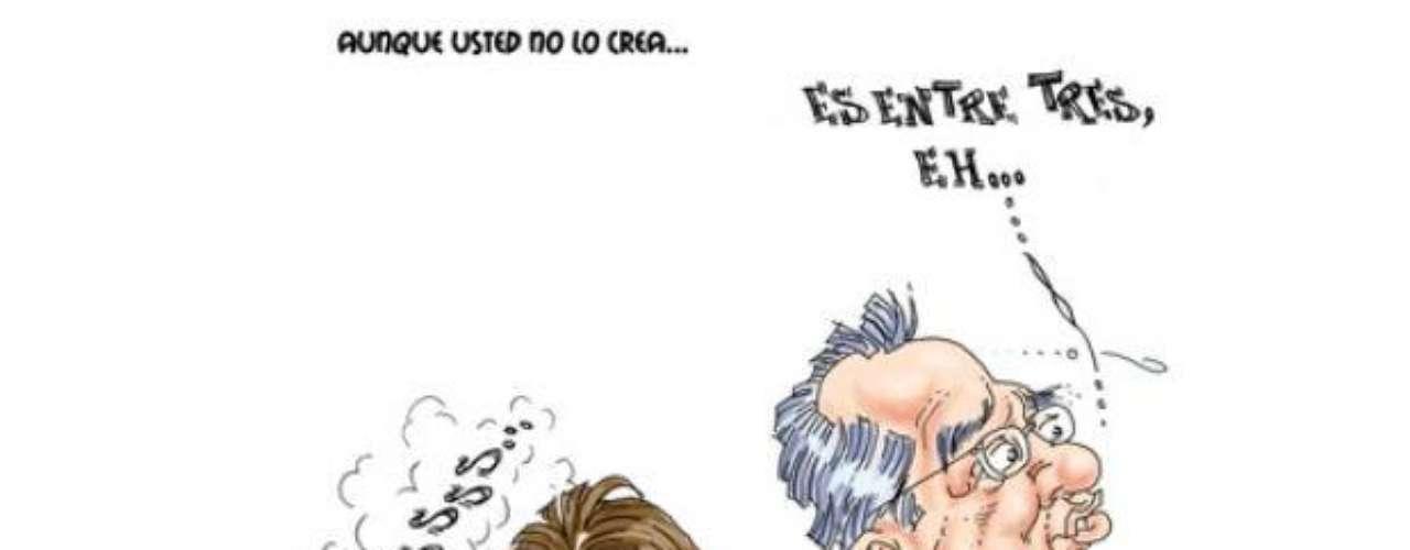 El caricaturista comparte a Terra su mirada crítica e incisiva, pero no por ello deja de ser divertida y hasta chistosa, de la realidad mexicana.