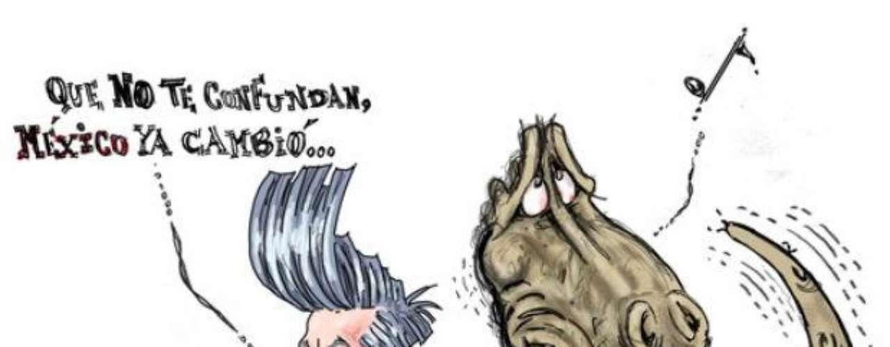 De acuerdo con la página electrónica de este caricaturista tapatío, \