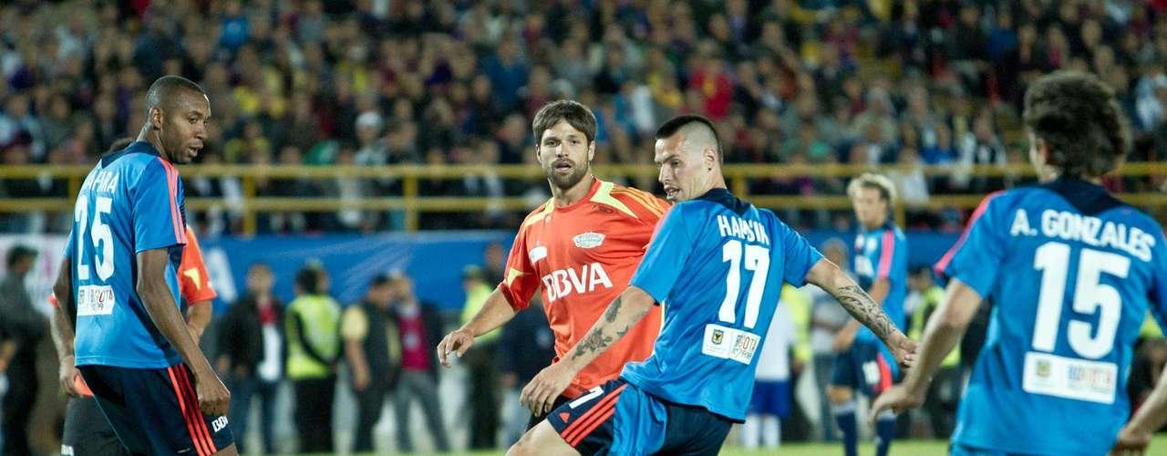 En total 12 goles se marcaron en el partido, 6-6 fue el marcador final