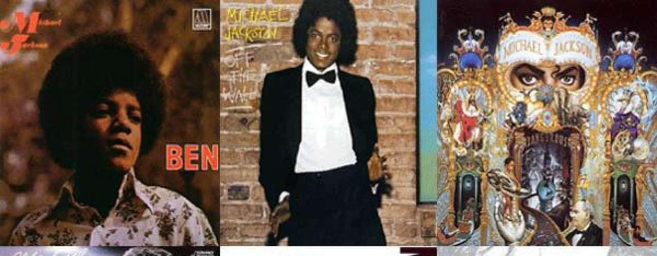 A tres años de su muerte, el rey del pop continúa presente en el corazón de sus fanáticos a través de su música con casi 750 millones de discos vendidos. A continuación reseñamos los álbumes que el astro publicó desde muy tierna edad, cuando aún pertenecía a esa factoría de éxitos llamada Jackson Five, cuyos miembros sobrevivientes anunciaron recientemente que harán un homenaje a Michael con una serie de conciertos como parte del tour denominado \