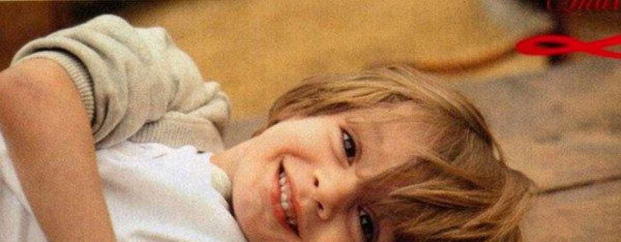El pequeño 'Tophy' ha sido parte de numerosas sesiones de fotos junto a sus famosos padres. Y siempre se lo ve hermoso y sonriente!