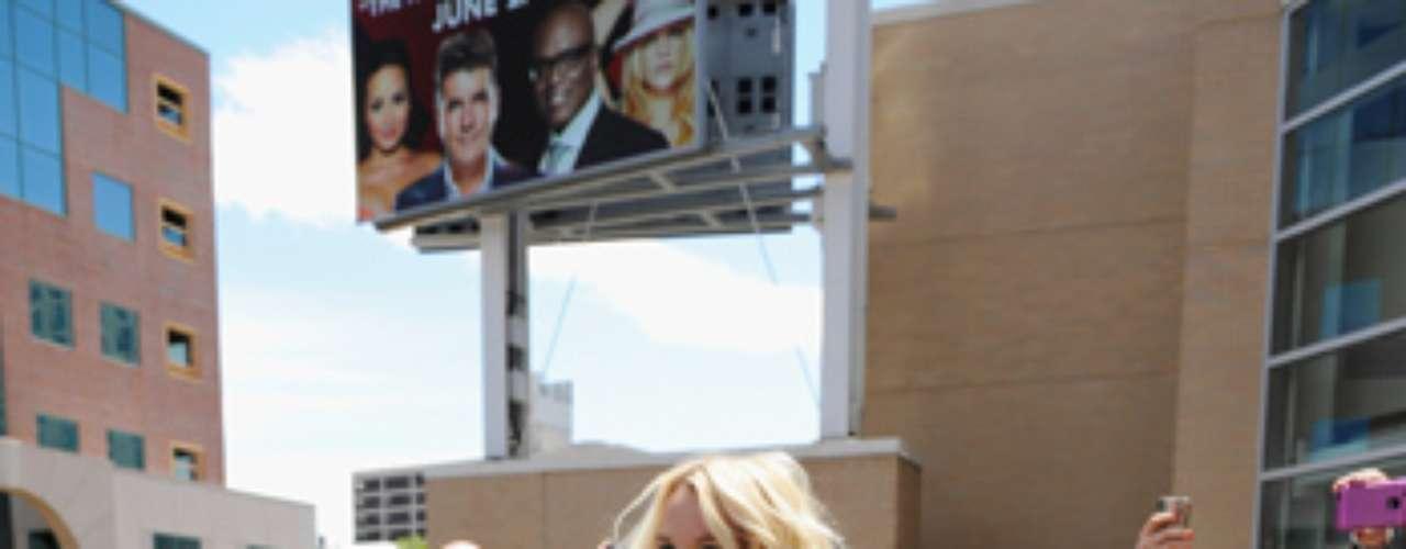 A sus 30 años, Spears recuperó su figura.