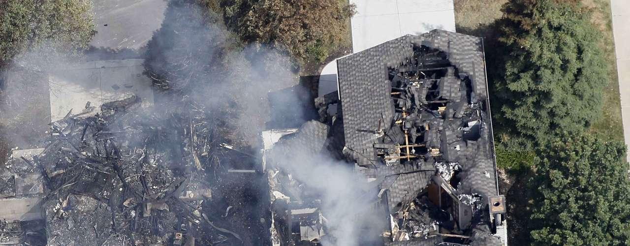 Hickenlooper sobrevoló el incendio anteayer por la noche para evaluar la magnitud del desastre. \