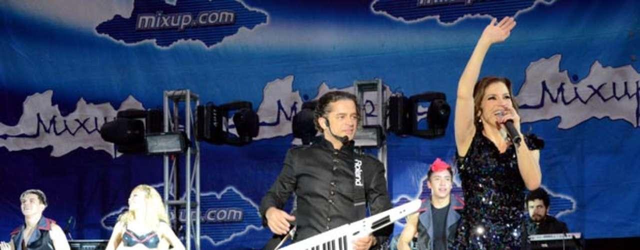 Alessandra y Chacho Gaytán ofrecieron un concierto íntimo para presentar su disco \