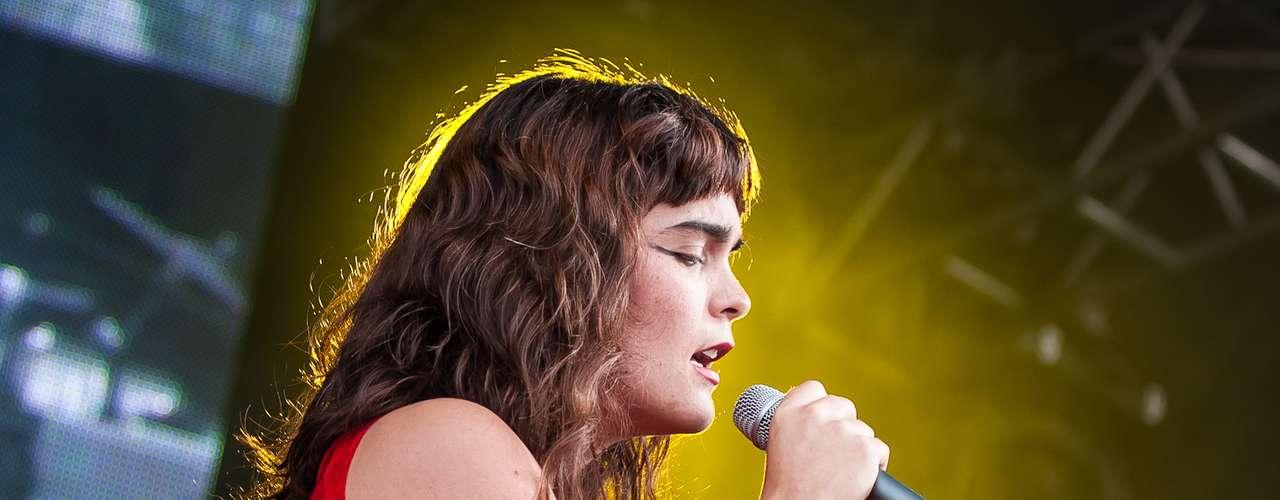 La cantante nacional sorprendió por sus sonidos experimentales en uno de los conciertos gratuitos más grandes del mundo, el  \