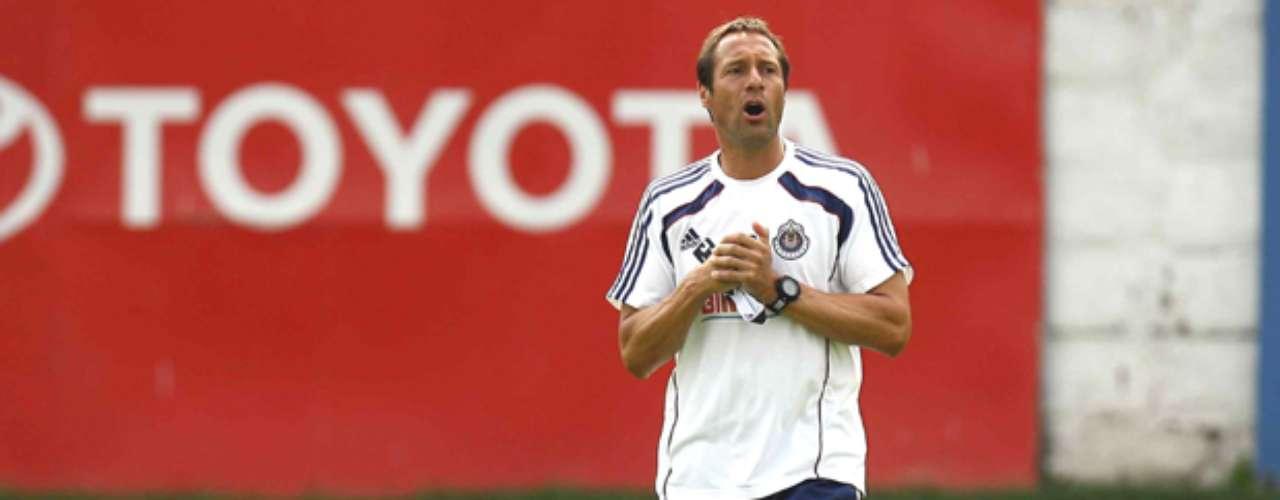 El holandés John van´t Ship debutará en el futbol mexicano con las Chivas de Guadalajara