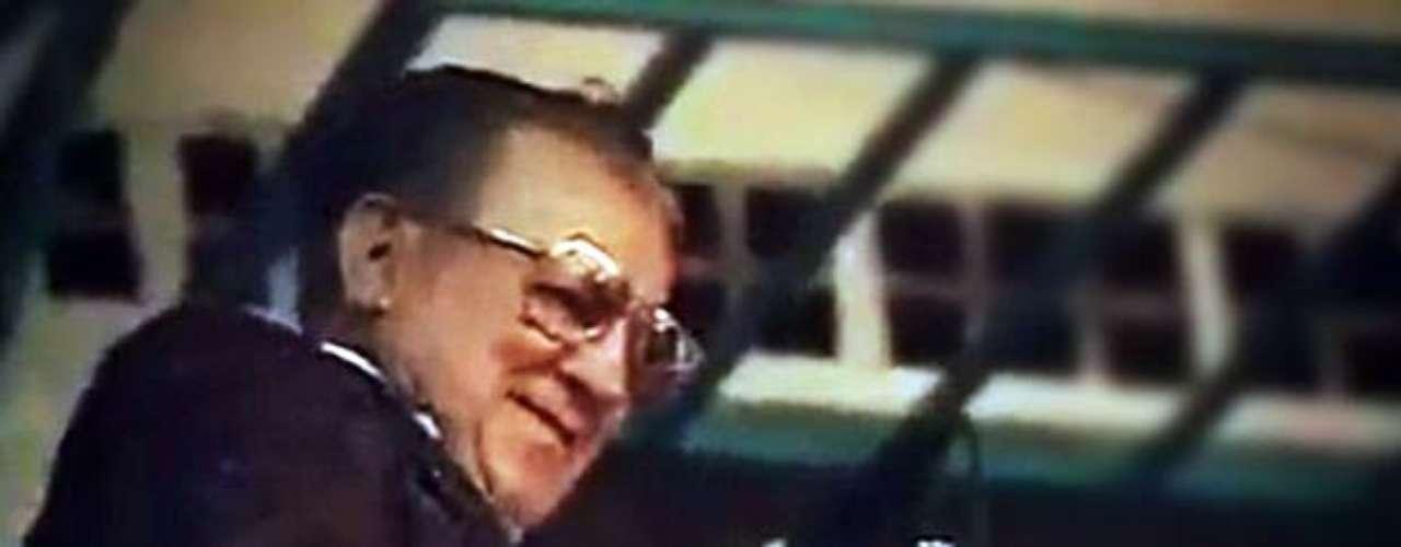 Don Cruz Lizárraga, fundador de La Banda El Recodo, estaría arribando a sus 94 años.