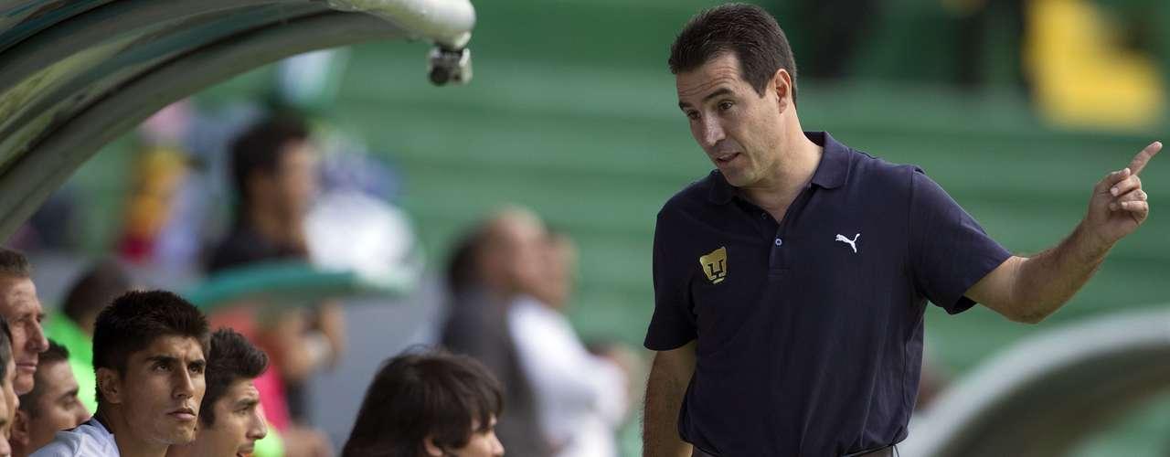 Joaquín del Olmo tendrá la oportunidad de dirigir a los Pumas de la UNAM