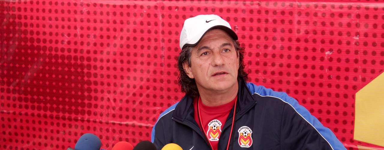 Rubén Omar Romano quiere ganar su primer título como técnico al frente de Monarcas Morelia