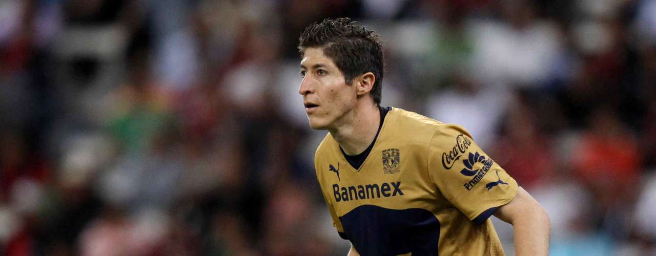 Alejandro Palacios will test out his feline reflexes as he defends the goal for Pumas.