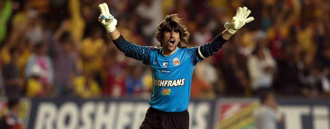 One of the best keepers in the league, Federico Vilar will return as the starter for Morelia.