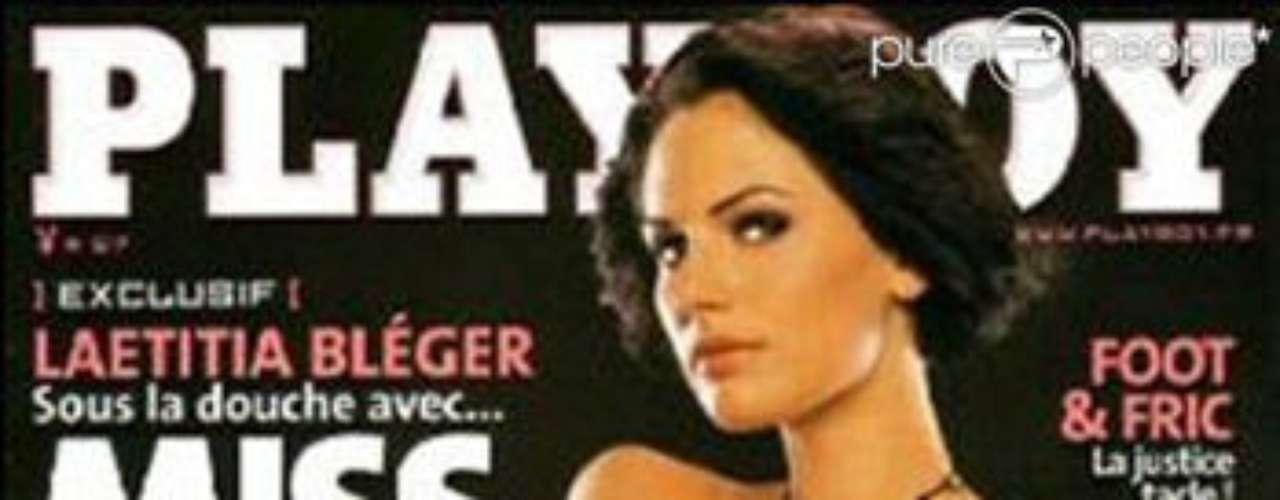 Laetitia Bleger. Después de ser elegida Miss Francia 2004, decidió posar desnuda para la edición gala de la revista Playboy, lo que causó un gran revuelo. Los organizadores decidieron destituirla.