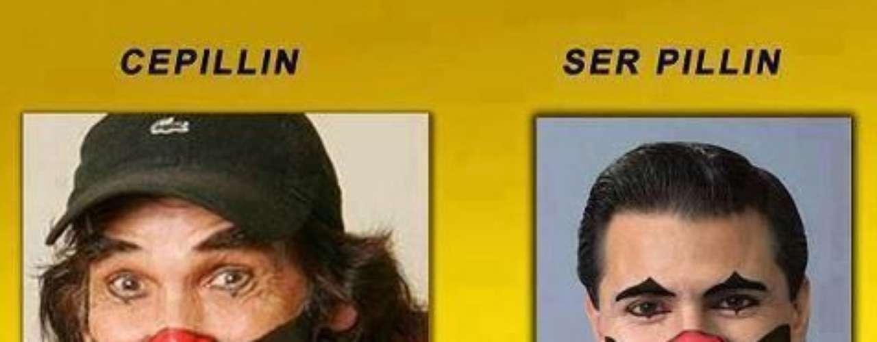 Una comparación con el payasito más famoso de la televisión mexicana.