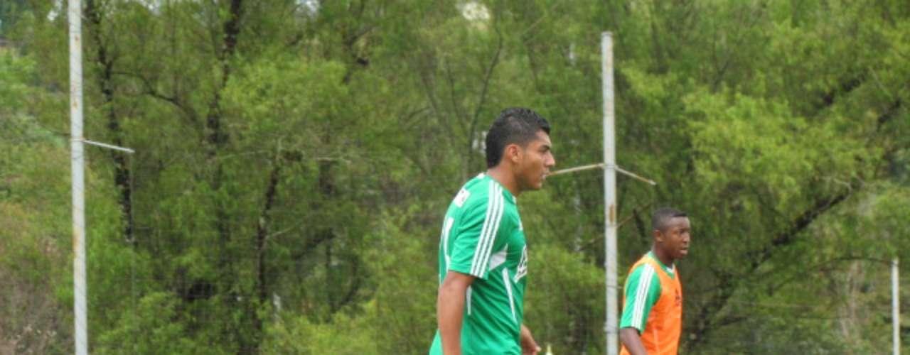 Sabe que los 20 goles que marcó con el Deportivo Rionegro el semestre anterior, pueden ser una presión, pero para eso se preparará durante estos días, para jugar los amistosos que tiene el equipo antes de empezar el 27 de julio la competencia oficial