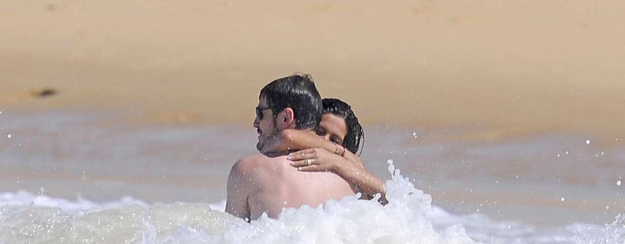 Iker y Sara Carbonero se dejaron llevar en sus vacaciones del verano pasado.