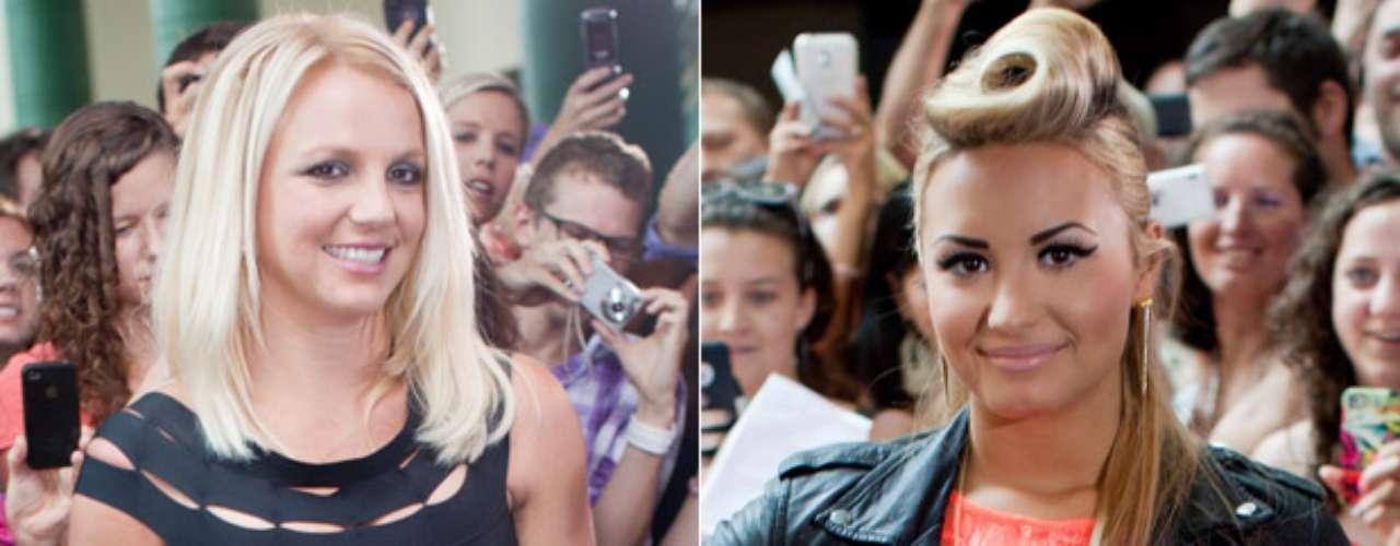 Britney Spears y Demi Lovato brillaron durante las audiciones para la segunda temporada de \