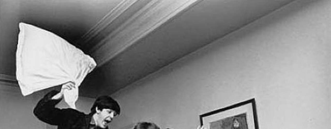 El fotógrafo Harry Benson fue testigo con su cámara de \