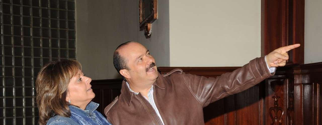 Vázquez Robles también acusó la intromisión del gobernador del PRI, César Duarte (en la foto), \