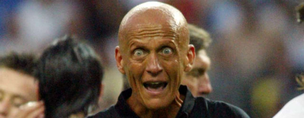 Pierluigi Collina, Italy. Despite always being in the news for positive results, he was always a fan favorite for his eccentric facial expressions and ad campaigns.