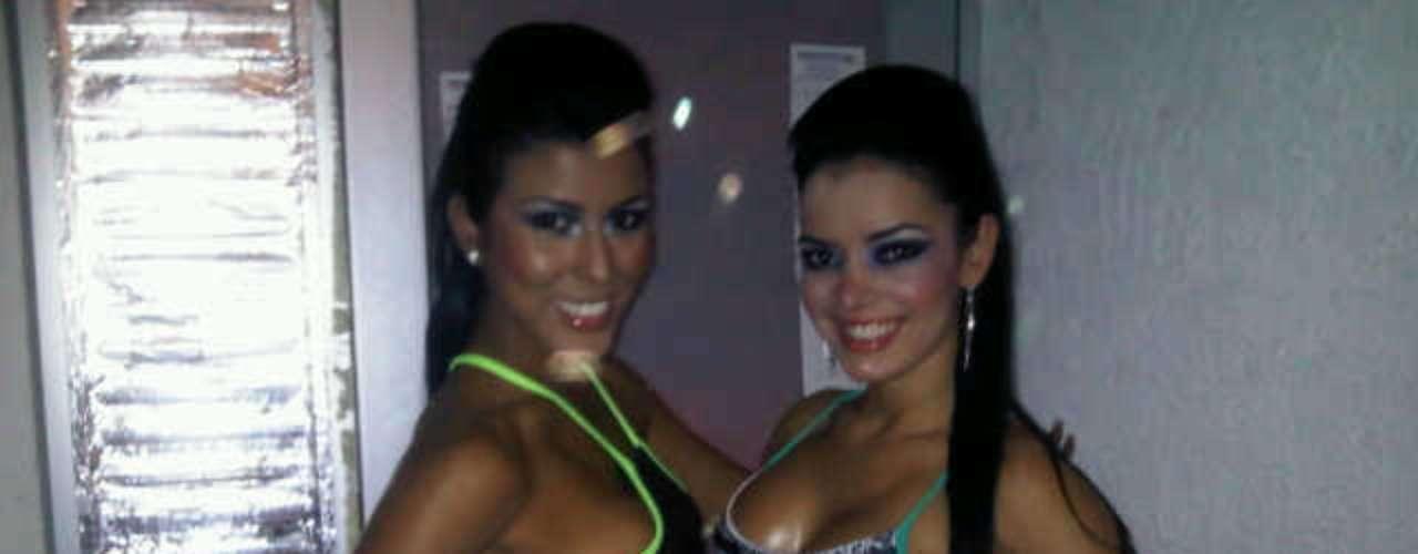 Rosa es una gran amiga de Elianis Garrido, la participante de 'Protagonistas de Nuestra Tele'. Ambas han compartido trabajos en el modelaje y también concursaron juntas en 2011, para ser Chica Aguila en ese año.