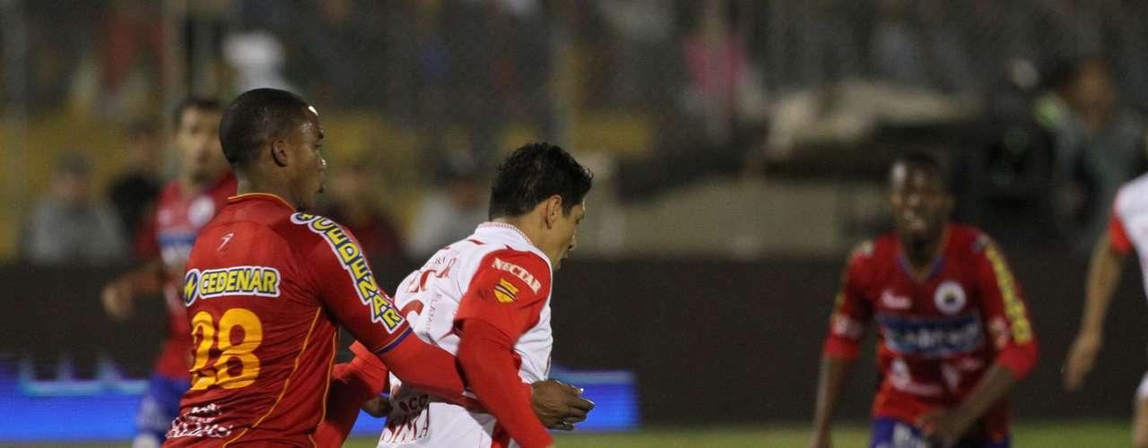 Independiente Santa Fe y Deportivo Pasto empataron en el juego de ida que define el título de la Liga Postobón