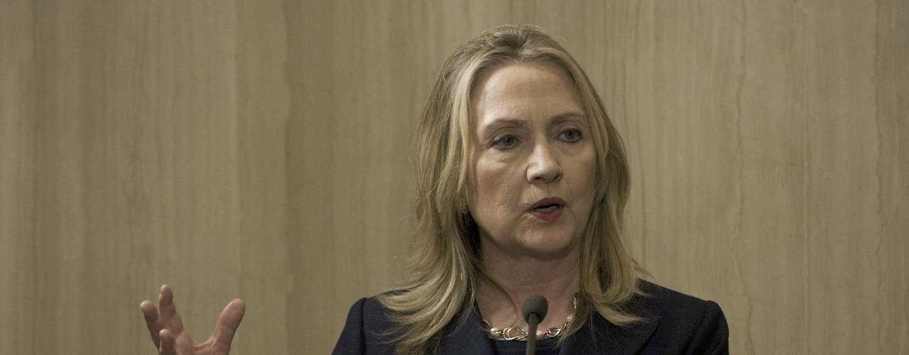 La secretaria de Estado estadounidense, Hillary Clinton, dijo que unas elecciones \