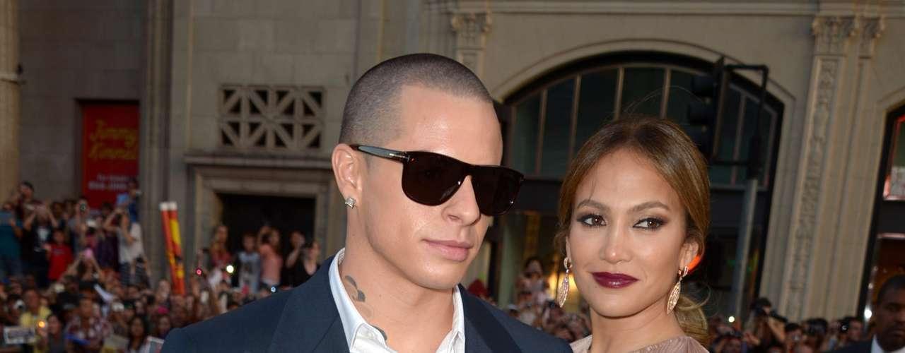Jennifer y su novio Casper.