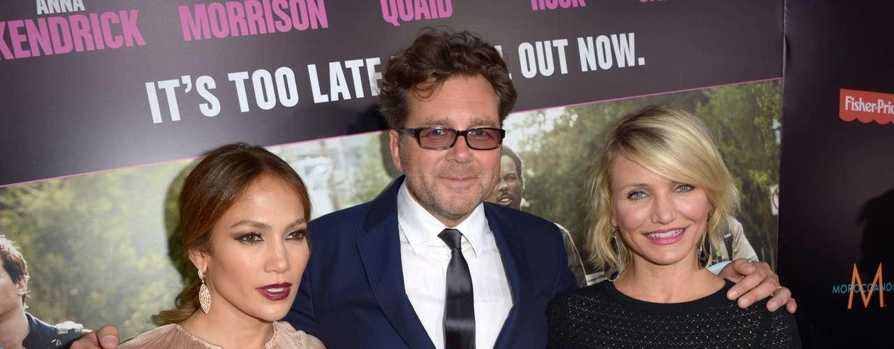 Este año, Jennifer López estrenó junto a Cameron Díaz la película \