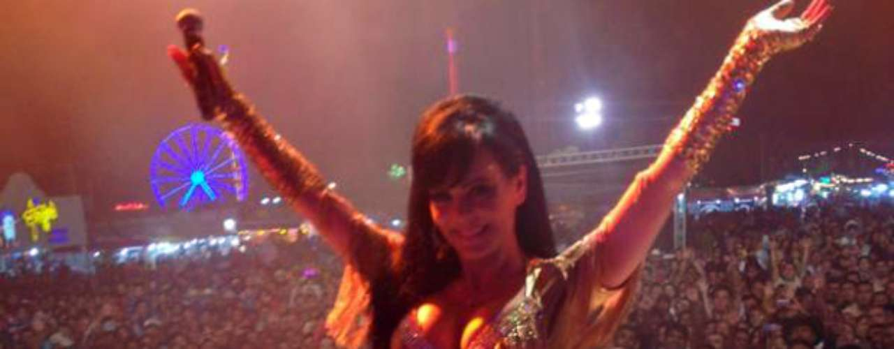 Maribel Guardia deslumbró con un gran espectáculo en Saltillo Coahuila.