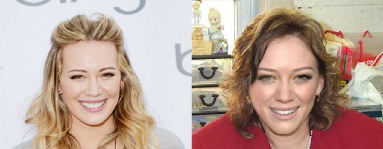 Planet Hiltron muestra muy pasada de kilos a la cantante Hilary Duff.