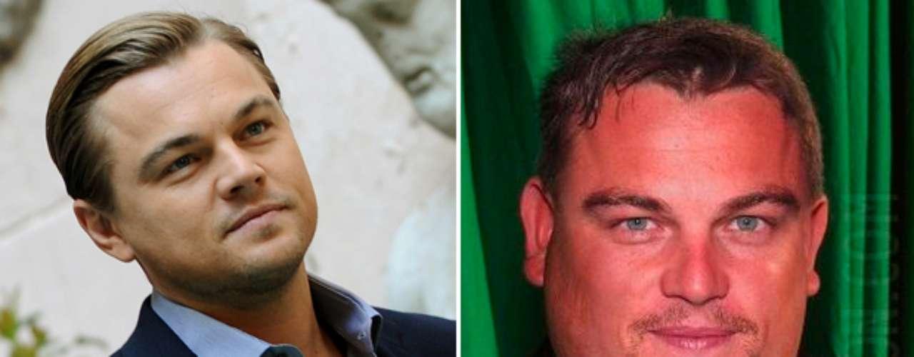 Con muchos kilos de más se vería el actor Leonardo DiCaprio.