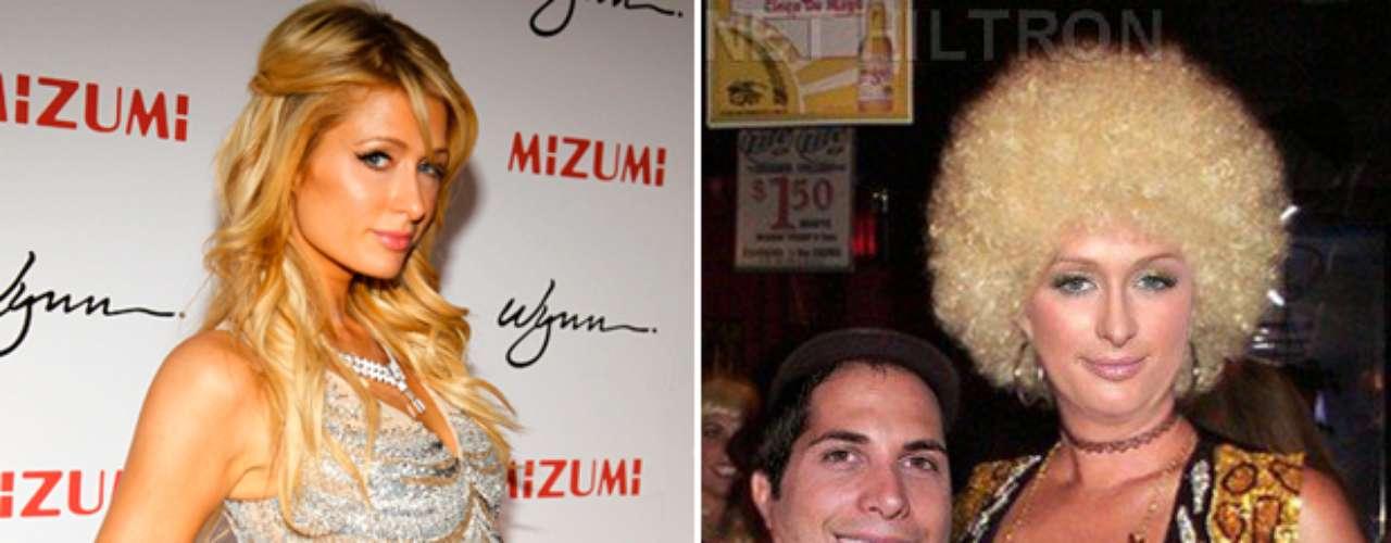 Planet Hiltron dejó de lado el glamour y la elegancia de Paris Hilton para esta transformación.