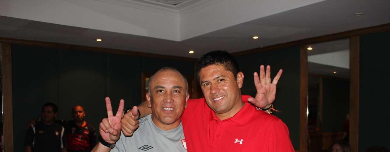 Así celebraron jugadores, cuerpo técnico y directivos junto a sus familias la obtención del séptimo título de Independiente Santa Fe.