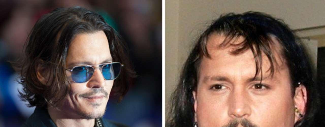 El actor y productor estadounidense Johnny Depp, recordado por películas como 'Sweeney Todd' y 'Piratas del Caribe', se vería muy diferente así el público esté acostumbrado a sus múltiples transformaciones para interpretar sus personajes.