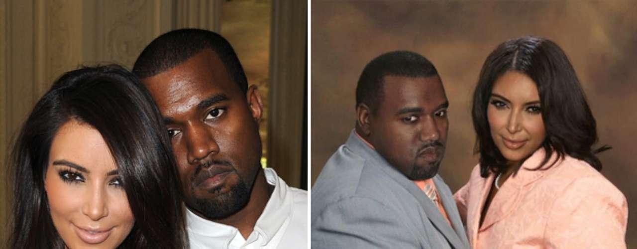 Kim Kardashian y Kanye West - Estas celebridades tienen todo el potencial para ser bellos pero la página en facebook Planet Hiltron ha encontrado la manera de bajarlos de su pedestal y revelar su identidad si no fueran famosos, sin los millones para tratamientos, estilistas ni la disciplina del ejercicio y la buena alimentación. ¿Cuál es tu transformación favorita?