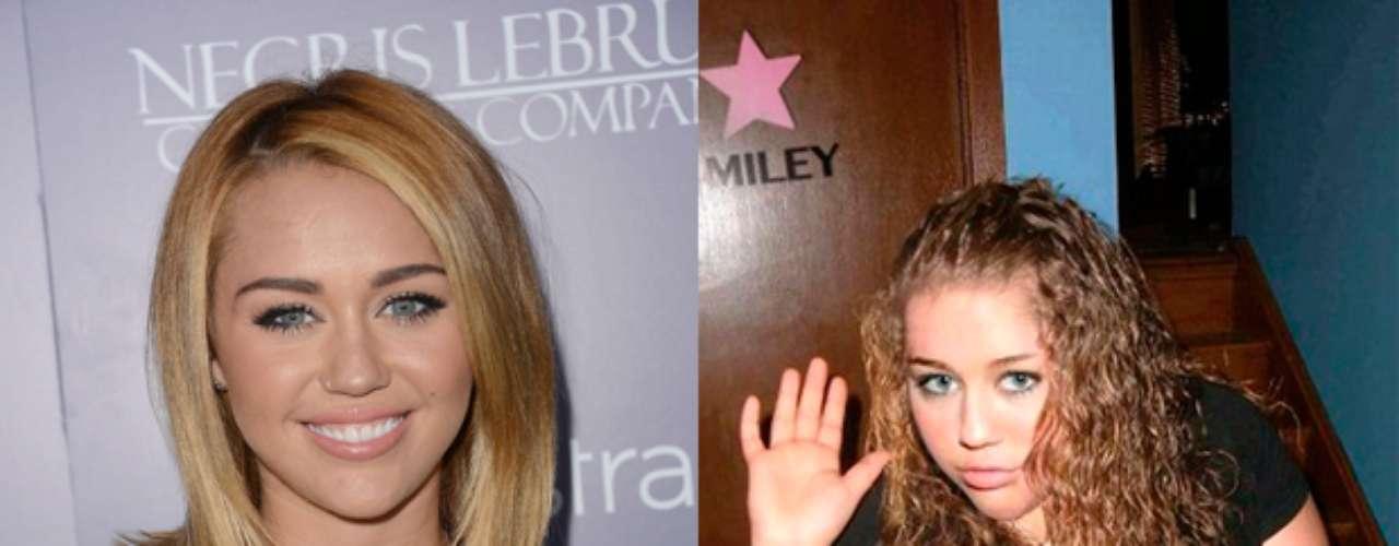 Muy pasada de kilos. Así se vería Miley Cyrus, según Planet Hiltron, si no fuera famosa.