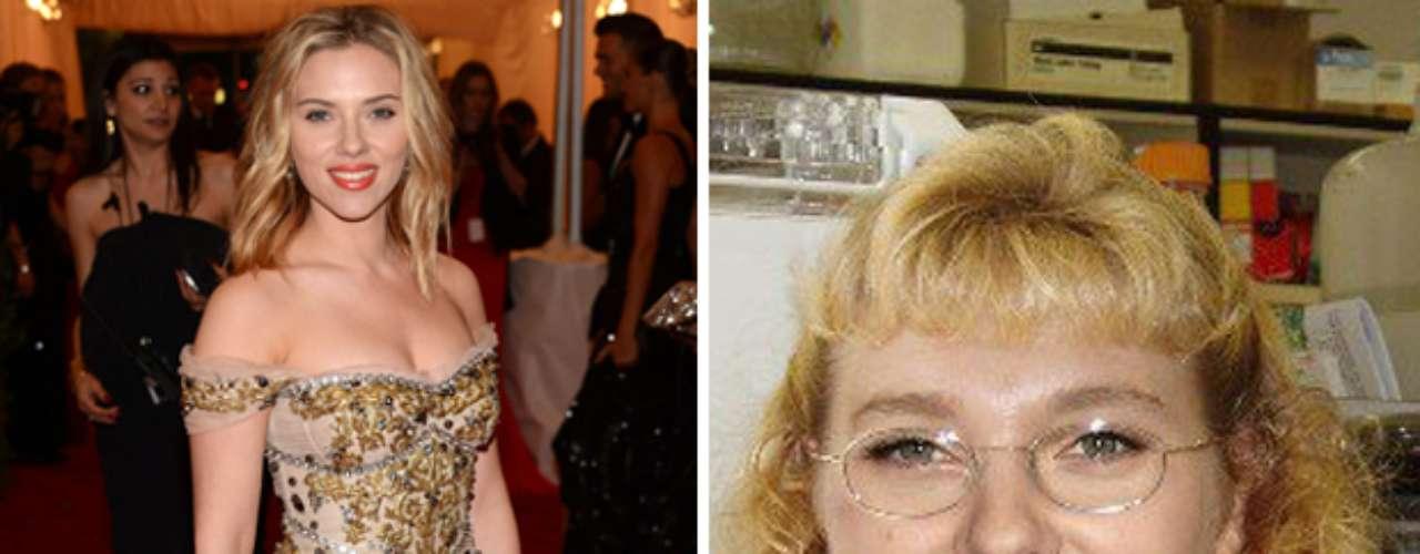 Planet Hiltron muestra a la actriz estadounidense Scarlett Johansson muy alejada de su atractiva apariencia.