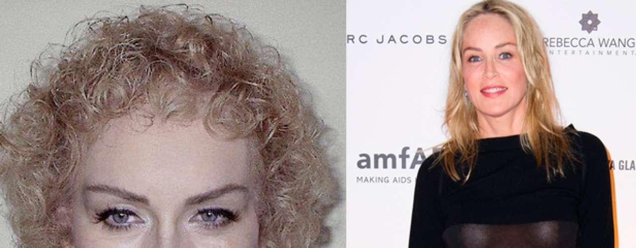 La actriz y productora estadounidense Sharon Stone a pesar de tener un gran cambio, no luce para nada mal.
