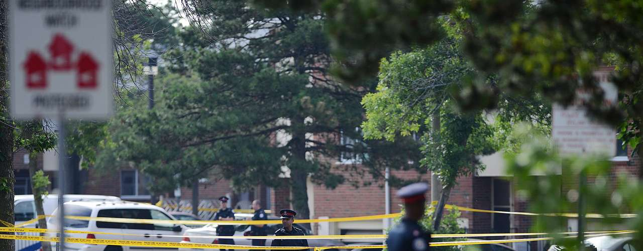 El tiroteo tuvo lugar en la Avenida Danzig, en el lado este de la ciudad, luego de una pelea que comenzó en una concurrida barbacoa.