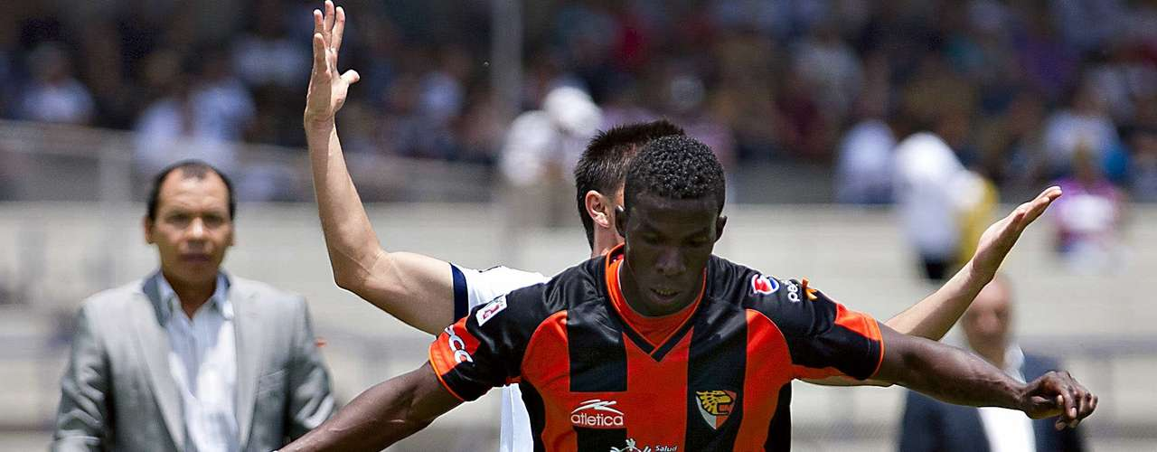 Franco Arizala will have the responsibility of leading the attack for Jaguares after Jackson Martinez left the team.
