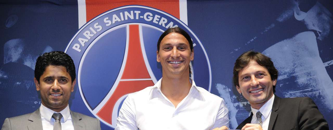 Ibrahimovic is the fourth player to have joined the club from Serie A this summer, after Thiago Silva, Argentine forward Ezequiel Lavezzi, and 19-year-old midfielder Marco Verratti.