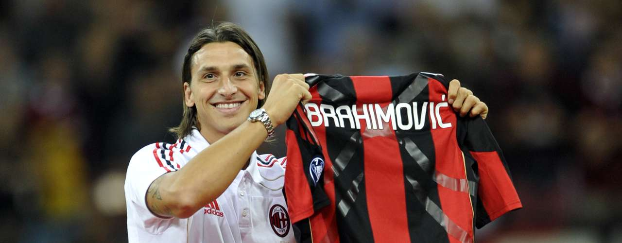 Milan (2010-2012): After a bad relationship with Barca's coach Pep Guardiola, the Swede moved to Milan on a one year loan deal with buying clause at the end of the season for 24 million euros.