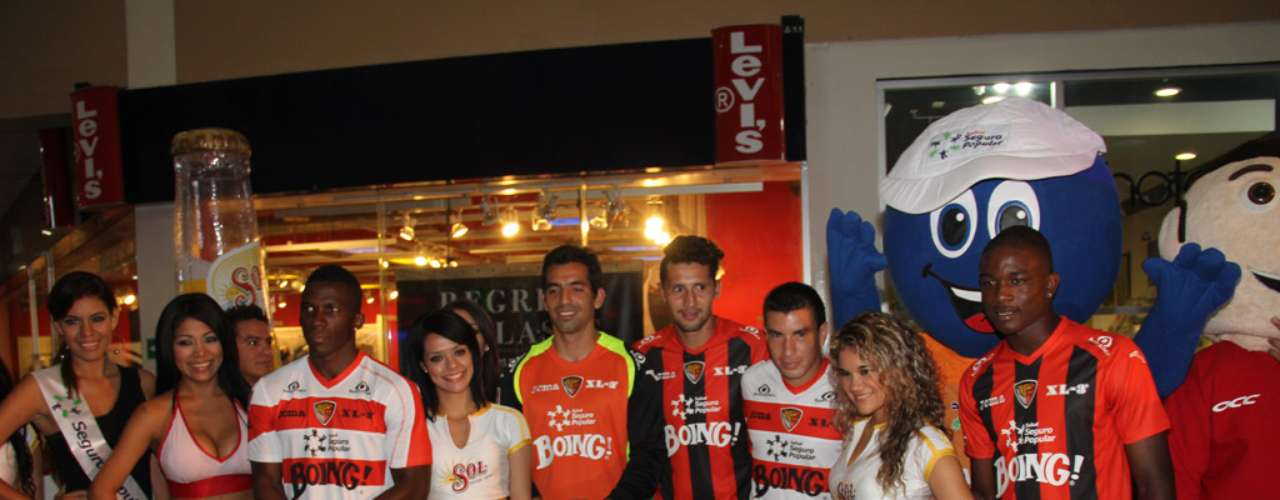 The team from Chiapas presented the new uniform for its fans.