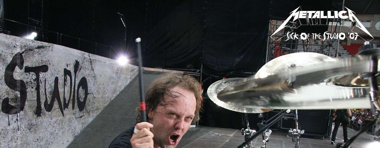 Antes de convertirse en el baterista de Metallica, Lars Ulrich, era tenista.