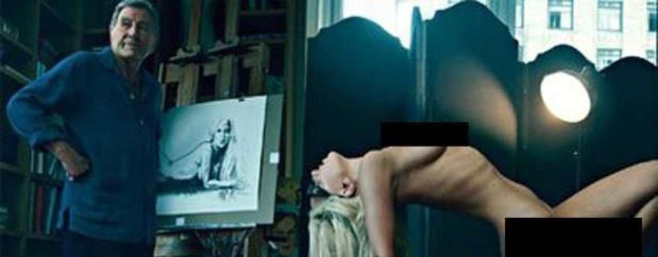Gaga, mostró el cuerpo, en todo su esplendor, para la revista Vanity Fair, ante la mirada atónita de Tony Bennett,