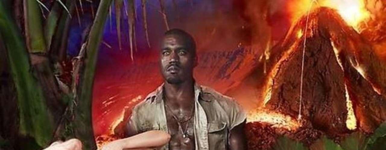 Las manos de Kanye West han tocado su cuerpo desnudo.
