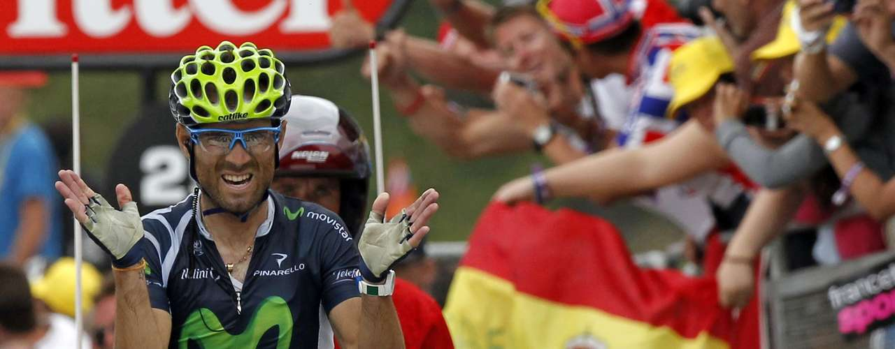 It is the first win for Valverde and Movistar Team at the race.