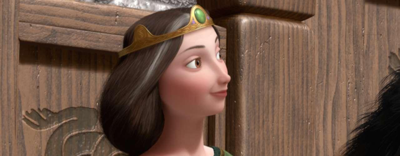La 'Reina Elinor' posee la gracia, la sabiduría y la fortaleza que requiere para gobernar con dedicación en su familia y en su reino. Ella es mucho más diplomática que su impulsivo marido y sabe cargar con todo el peso de las necesidades de su reino.