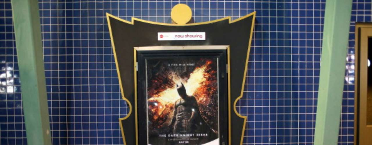 No sólo interrumpir el estreno de la última de Batman \