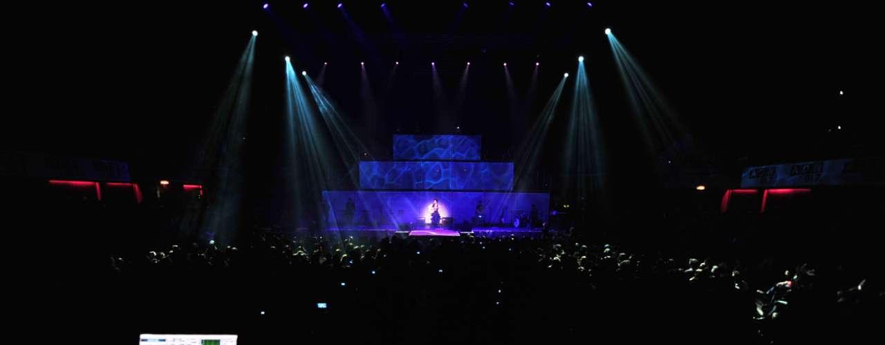 Ante un Teatro Caupolicán repleto, el cantautor chileno Manuel García presentó su nuevo disco, \